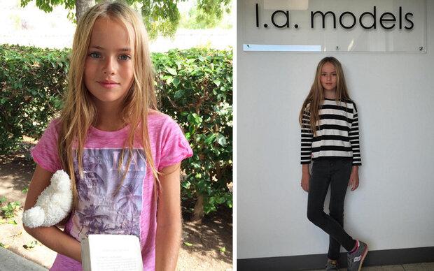 Supermodel mit nur 10 Jahren