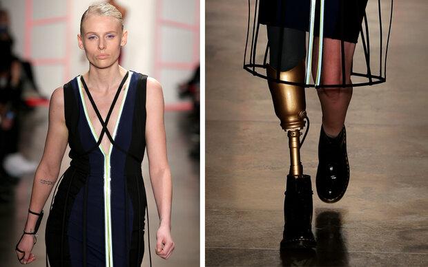 Model verlor ihr Bein wegen eines Tampons