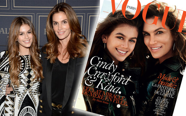Crawford-Duo am Cover der Vogue