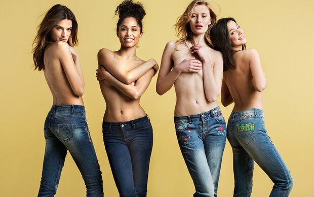 Desigual: Back to the Denim-Roots