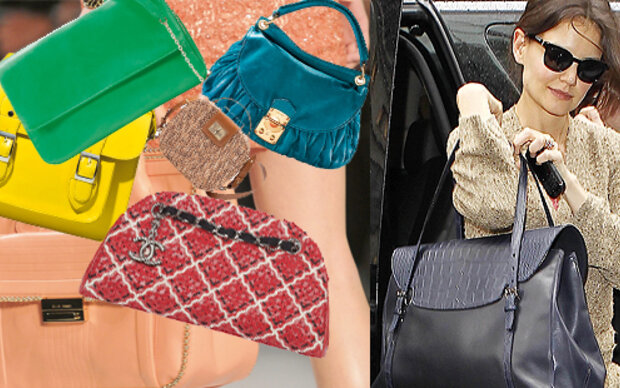 Große Handtaschen machen krank