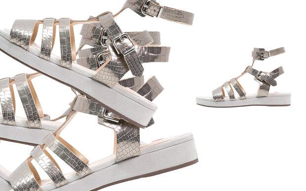 Metallic-Sandalen von Högl