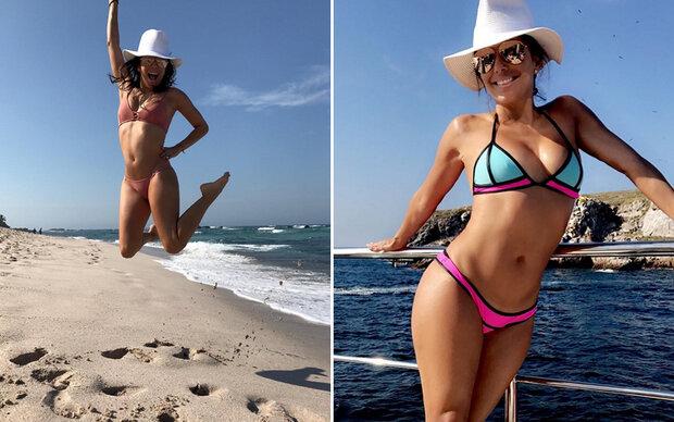 Eva Longorias sexy Bikini-Show