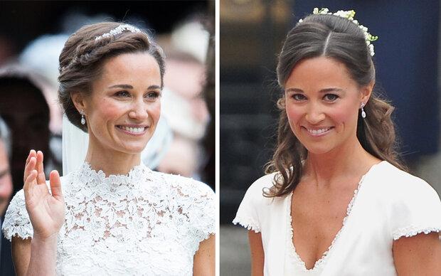 Das trug Pippa schon bei Kates Hochzeit