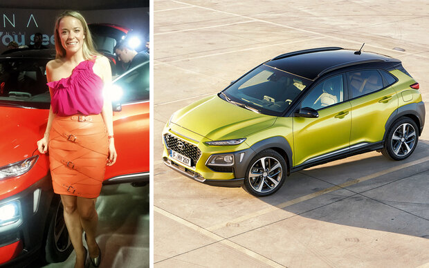 Marina Hoermanseder ist Kampagnen-Star des Hyundai KONA