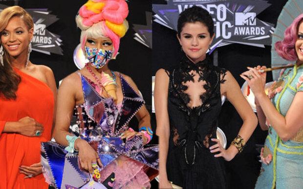 MTV VMAs: Die schönsten und schrägsten Outfits vom roten