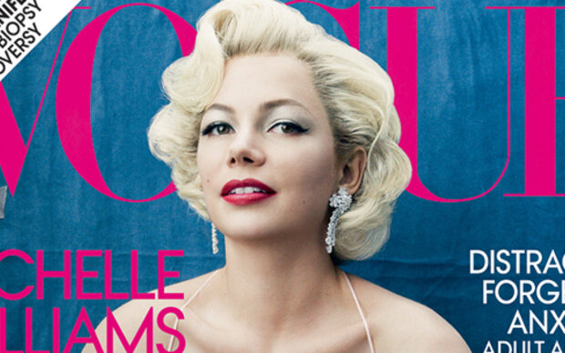 Michelle Williams als Marilyn Monroe-Double