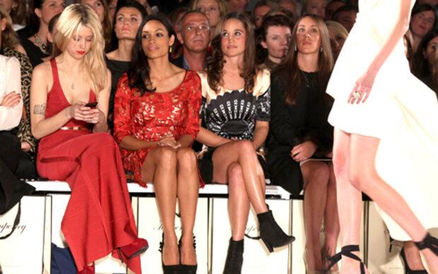 Pippa der Star der Front Row