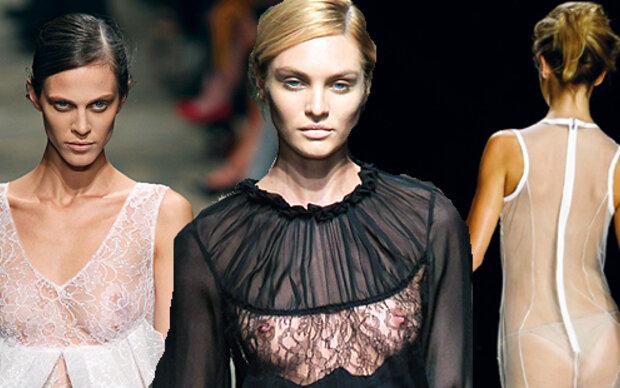 So nackt ist die Mailänder-Modewoche