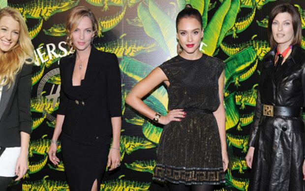 Versace für H&M: Fashion Show in NY