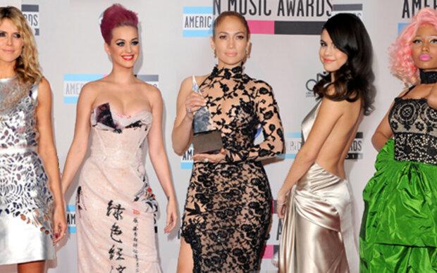 Star-Looks bei den American Music Awards