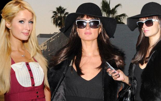 Paris Hilton Von Blond Zu Braun