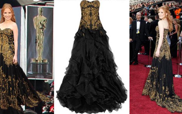 Jessica Chastains Oscarkleid zum Nachshoppen