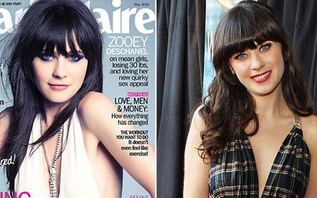 Zooey Deschanel: von 'New Girl' zu Cover-Girl