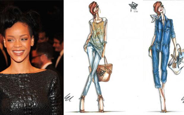 Rihanna und die neue Armani Kollektion