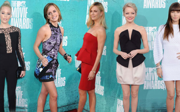 Red Carpet Looks bei den MTV Movie Awards