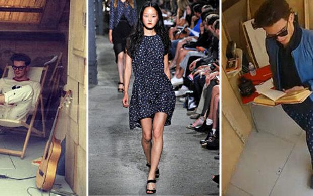 Die längste Modeschau der Welt in Paris