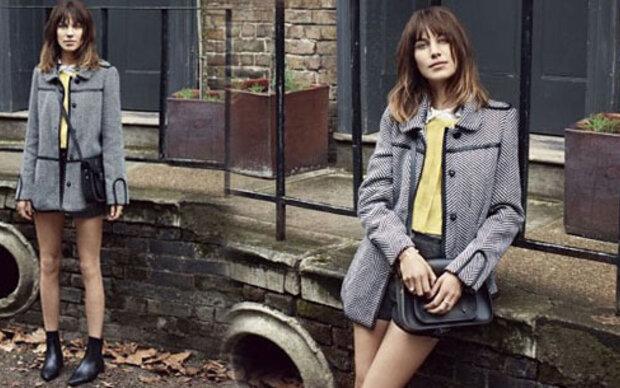 Alexa Chung wieder Gesicht für Vero Moda