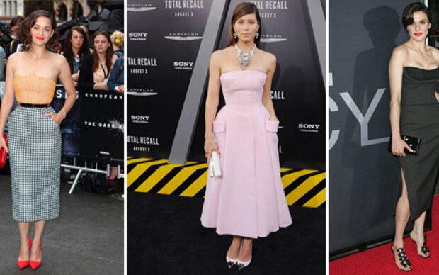 Stars lieben die Dior-Looks von Raf Simons
