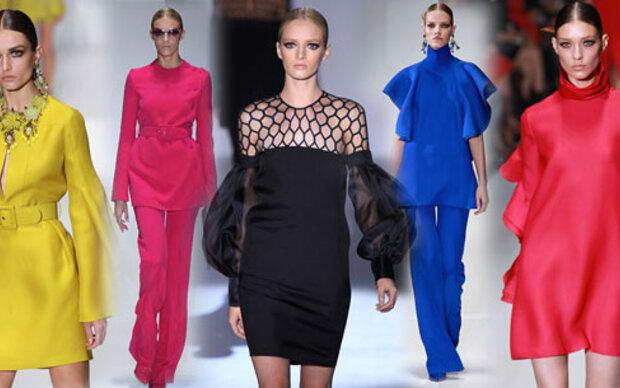 Gucci eröffnet mit gerüschten 70er-Looks