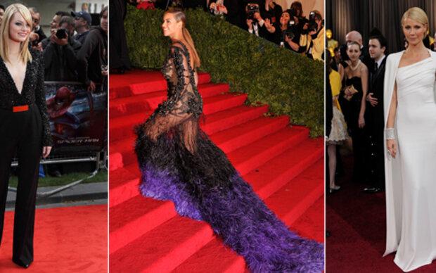 Das waren die schönsten Red Carpet-Roben 2012