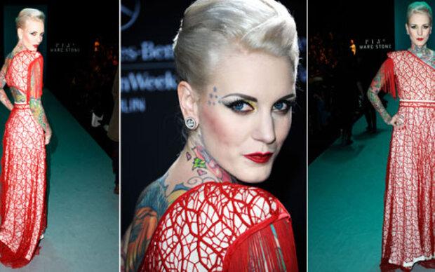 Österreicherin modelt für die Fashion Week Berlin