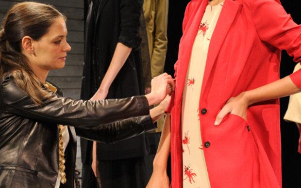 Katie Holmes: Keine Show bei Fashion Week