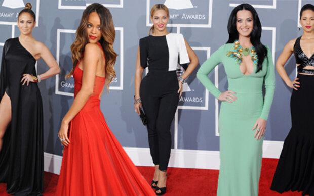 Die Looks von den Grammys 2013