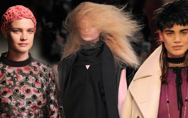Schräge Haartrends aus Paris