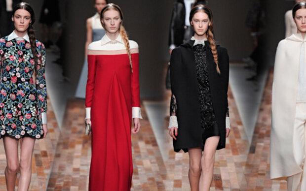 Valentino zeigt flämischen Style