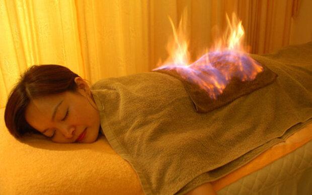 Fire Facials: Der letzte Schrei aus China
