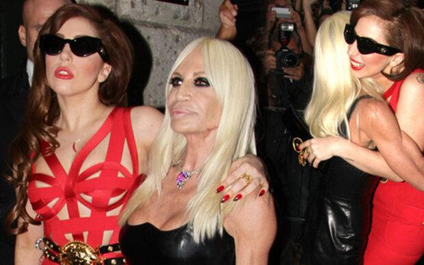 Schwarzes Hochzeitskleid von Versace?