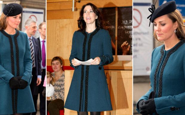 Kate stiehlt Look von Prinzessin Mary