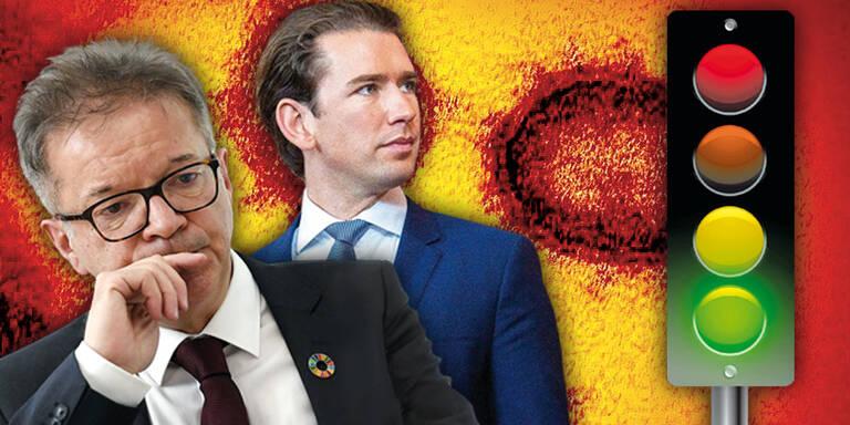 """Regierung lädt """"orange"""" Regionen zu Gesprächen"""