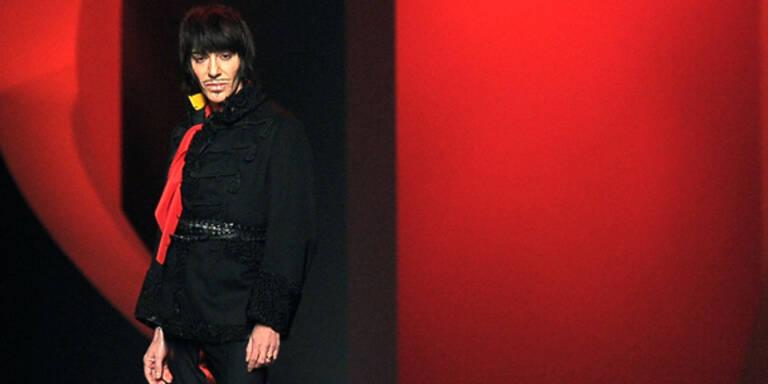 Gallianos Kleidung von Eurovision verbannt