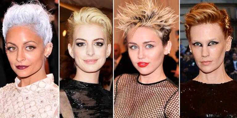 Stars setzen auf Punk-Looks