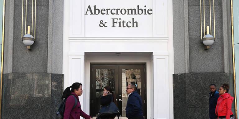 Abercrombie & Fitch: Verkaufszahlen sinken