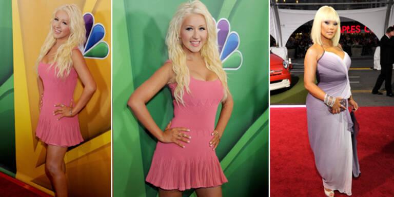 Christina Aguilera zeigt sich noch dünner