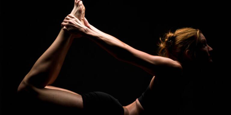 Dark Yoga zur Stresslinderung