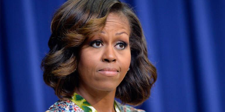 Michelle Obama macht Schluss mit Stirnfransen