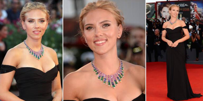 Scarlett Johansson zeigt sexy Kurven