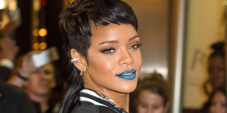 Rihanna macht jetzt blau