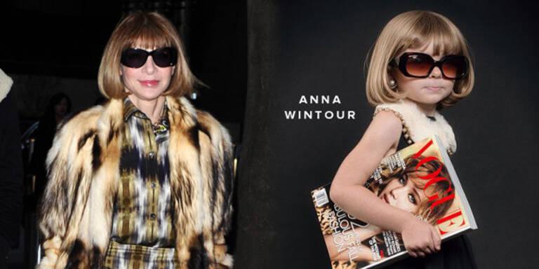 Mini-Anna Wintours als Halloween-Trend