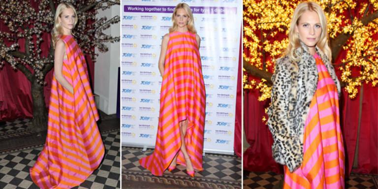 Flop: Poppy geht im Sack-Kleid komplett unter