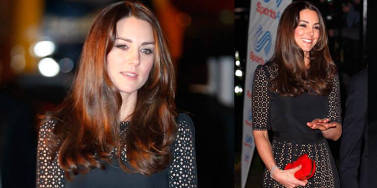 Kate zeigt sich mit frischem Look