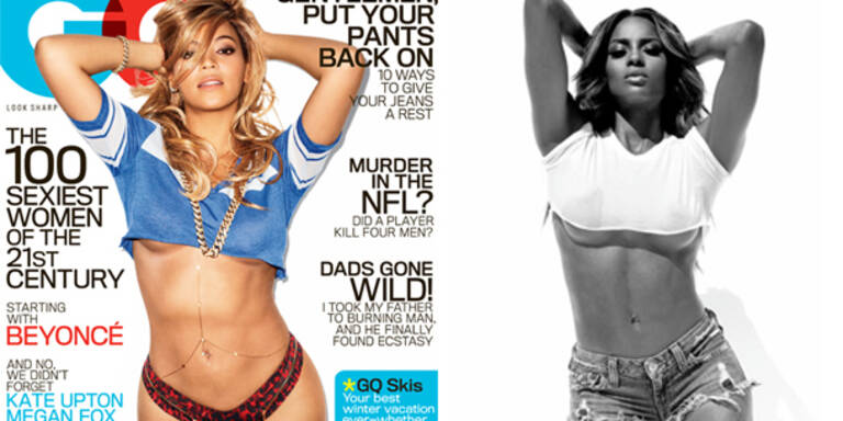 Ciara kopiert Beyoncé-Cover