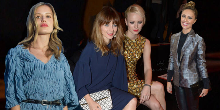 Stars im Fashion Week-Fieber