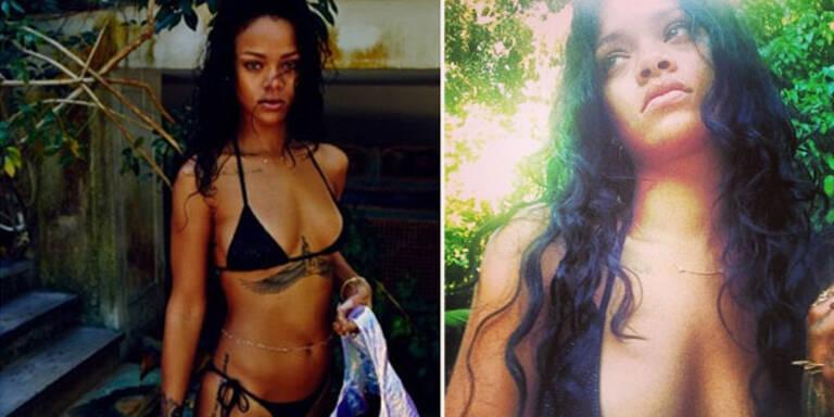 Rihanna: Bikini-Grüße aus Brasilien