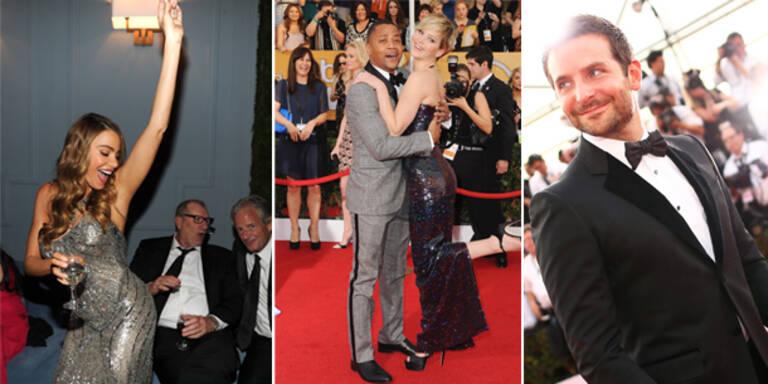 Stars in Partylaune bei den SAG Awards