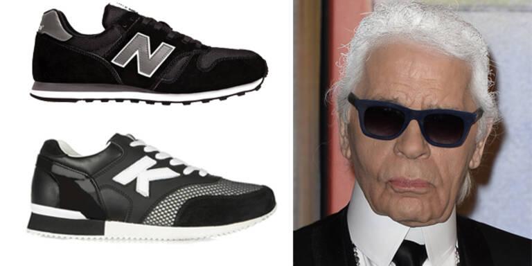 Hat Karl Lagerfeld diese Sneakers abgekupfert?